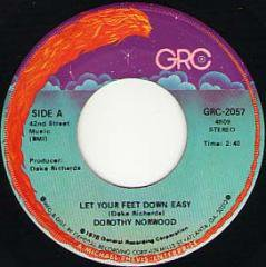 Let Your Feet Down Easy / What A Beautiful World