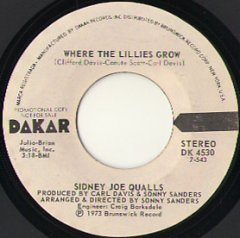 Where The Lillies Grow (stereo) / (mono)