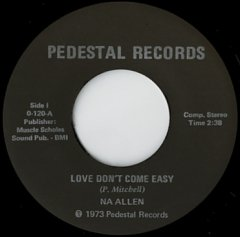 Love Don't Come Easy / Hard To Do Without You