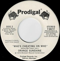 Who's Cheating On Who (stereo) / (mono)