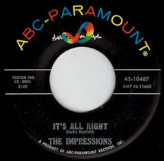 It's All Right / You'll Want Me Back