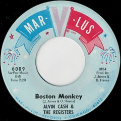 Boston Monkey / Un-Wind The Twine