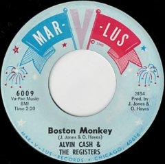 Boston Monkey / Un-Wind The Twine