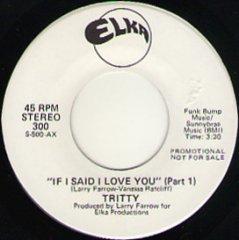 If I Said I Love You (pt.1) / (pt.2)