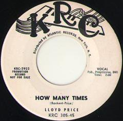 How Many Times / To Love And Be Loved