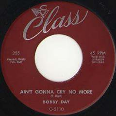Ain't Gonna Cry No More / Love Is A One Time Affair