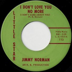 I Don't Love You No More / Tell Her For Me