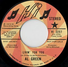 Livin' For You (stereo) / (mono)