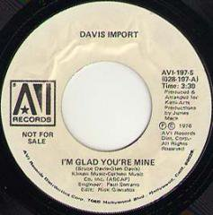 I'm Glad You're Mine / Starchild