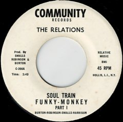 Soul Train Funky Monkey (pt.1) / (pt.2)