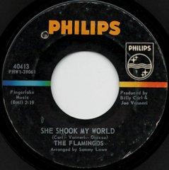She Shook My World / Itty Bitty Baby