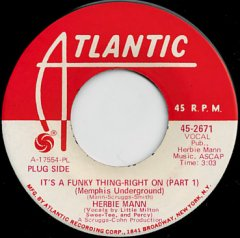 It's A Funky Thing - Right On (pt.1) / (pt.2)