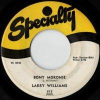 Bony Moronie / You Bug Me' Baby