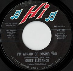 I'm Afraid Of Losing You / Do You Love Me