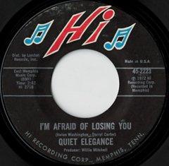 I'm Afraid Of Losing You / Do You Love Me