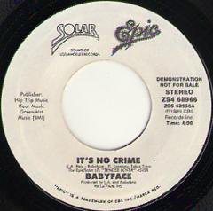 It's No Crime / (same)