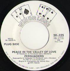 Peace In The Valley Of Love / (same)