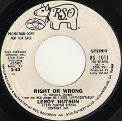 Right Or Wrong (stereo) / (mono)