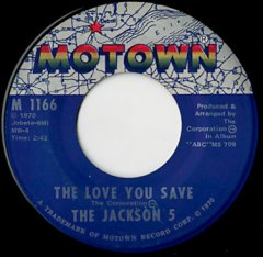 The Love You Save / I Found That Girl