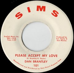 Please Accept My Love / I Can't Take No More
