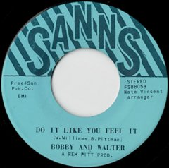 Do It Like You Feel It / One, Two, Three