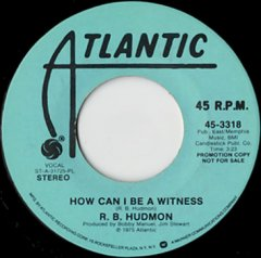 How Can I Be A Witness (stereo) / (mono)