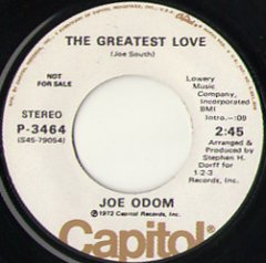 The Greatest Love (stereo) / (mono)