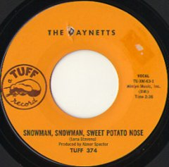 Snowman, Snowman, Sweet Potato Nose / (inst)
