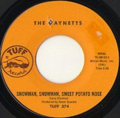 Snowman, Snowman, Sweet Potato Nose / (inst)