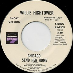 Chicago, Send Her Home / (long ver)