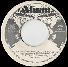 Paying For My Love Mistakes / Spanish Harlem