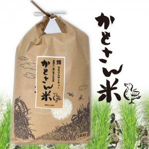 【29年度産米】無農薬かもさん米 白米5キロ