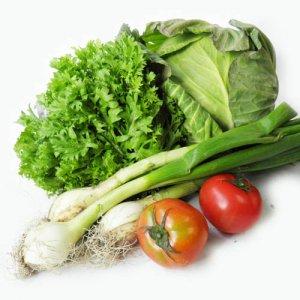 旬の野菜セット便新鮮安全野菜と果物(大)9〜12品目⇒内容はここをクリック