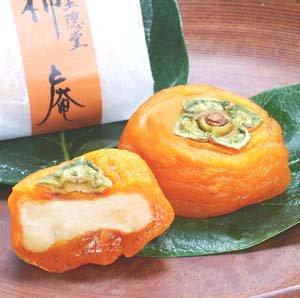 お待たせしました  干し柿 柿庵 かきいおり 8個入り ギフト ほしがきのお菓子(クール便)