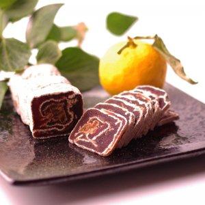 ◆上品な味で大人気!◆ゆず巻き柿【190g】