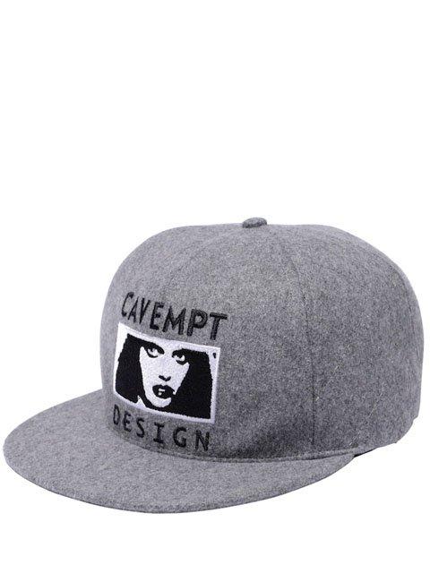 DESIGN WOOL LOW CAP