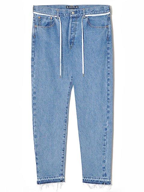 90'S SHILHOUTTE DENIM PANTS