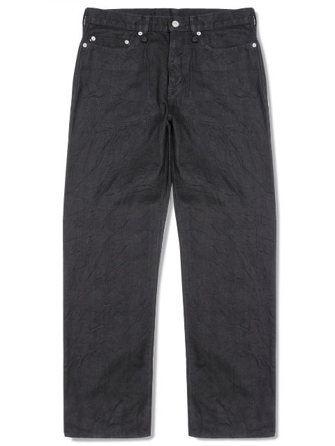 BLACK DENIM PANTS NEO STRAIGHT