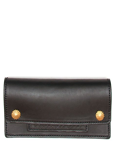 DOUBLE CONCHO LEATHER WALLET