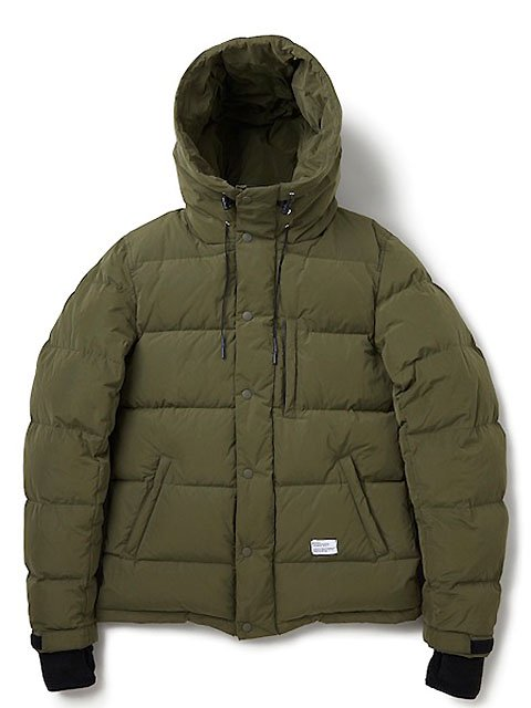 "HOODED DOWN JACKET ""QUINE"""