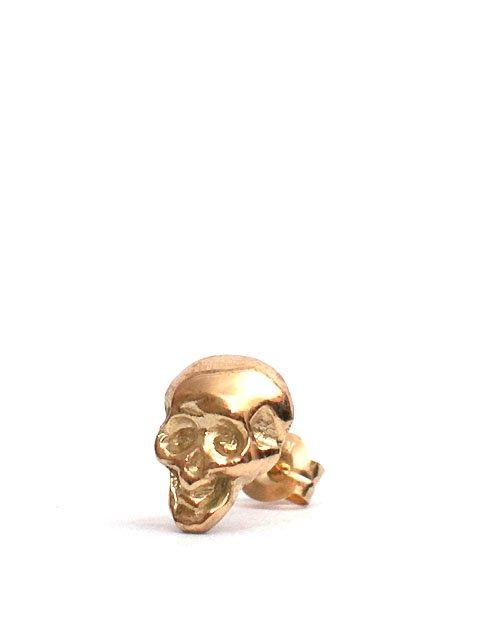 SKULL PIERCED 18K GOLD