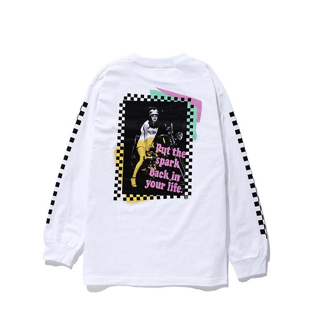 CHINGCAMEXCHALLENGER L/S PUNK PHOTO TEE