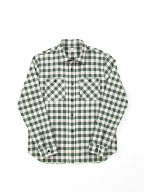 Dobby Check L/S Work Shirt