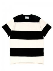 FAT BORDER KNIT SHIRT