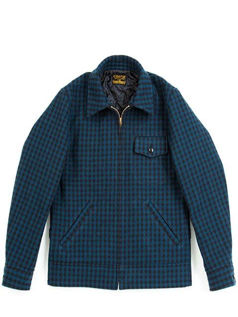 Wool Check Field Sport Jacket