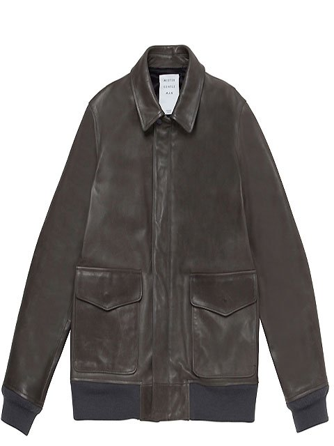 LEATHER A2 JACKET