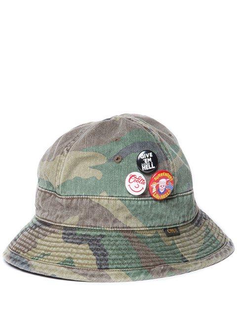 Woodland Camo Junkman Hat
