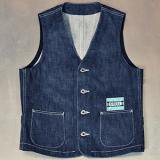 STL-XX028 WORK VEST (Denim)[ STEEL ORIGINAL/GRIMB ]