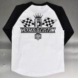 STL-548 RAGLAN 3/4 SLEEVE T-SHIRT[ JJ DESIGN ]