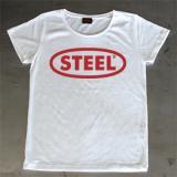STL-LA003 SHORT T-SHIRT[ STEEL DESIGN ]